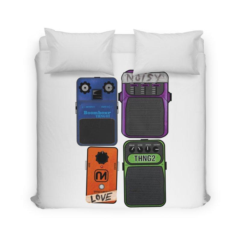 Noisy Love Home Duvet by boomboxr's Artist Shop