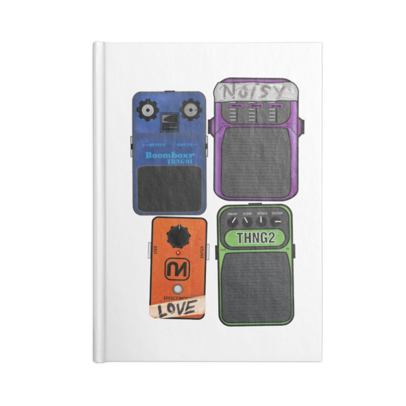 Noisy Love Accessories Notebook by boomboxr's Artist Shop