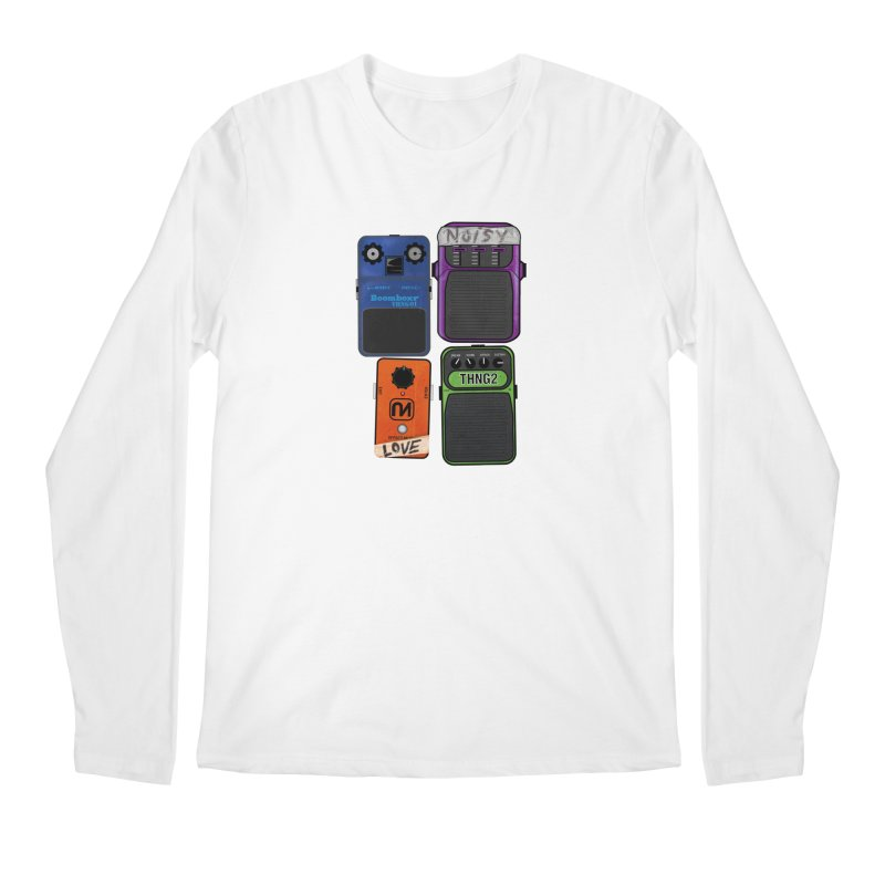 Noisy Love Men's Longsleeve T-Shirt by boomboxr's Artist Shop