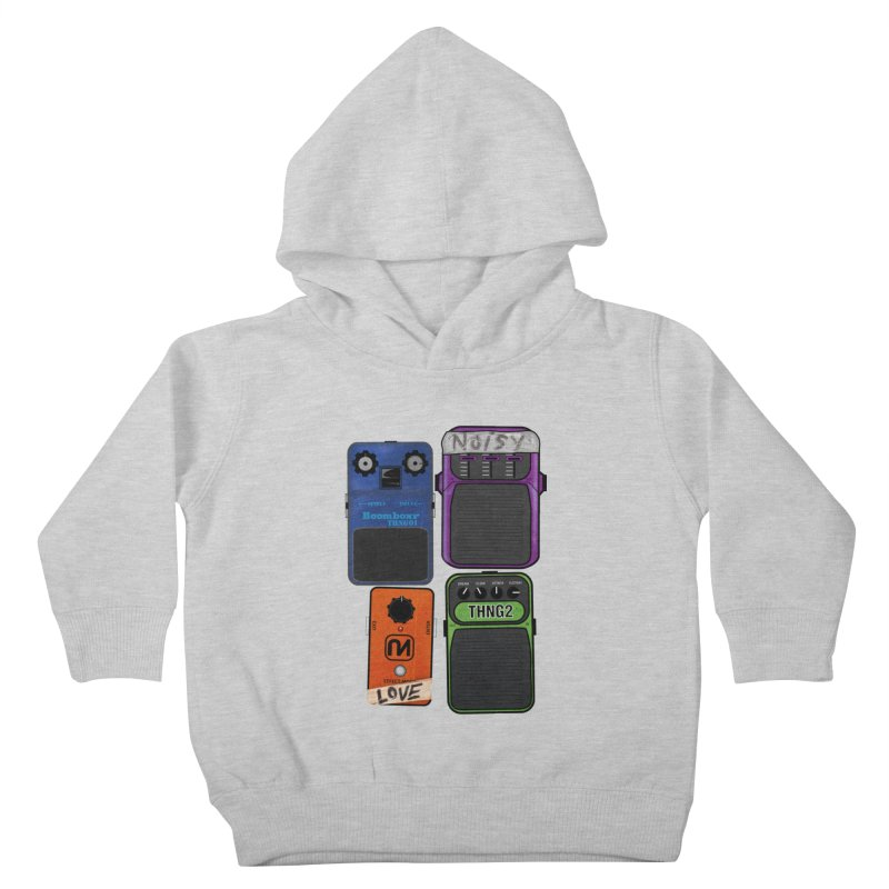 Noisy Love Kids Toddler Pullover Hoody by boomboxr's Artist Shop