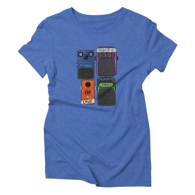 Noisy Love Women's Triblend T-shirt by boomboxr's Artist Shop