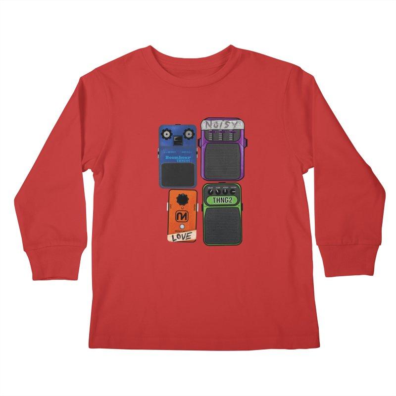 Noisy Love Kids Longsleeve T-Shirt by boomboxr's Artist Shop
