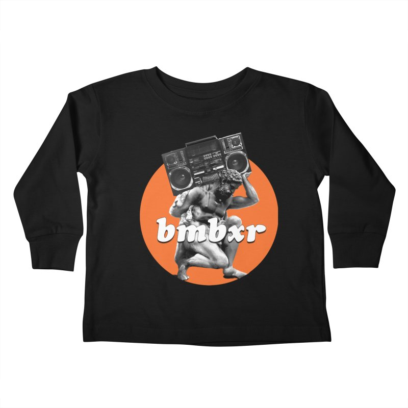 The Classics Kids Toddler Longsleeve T-Shirt by boomboxr's Artist Shop