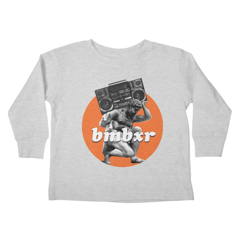 The Classics Kids Toddler Longsleeve T-Shirt by boomboxr's Artist Shop