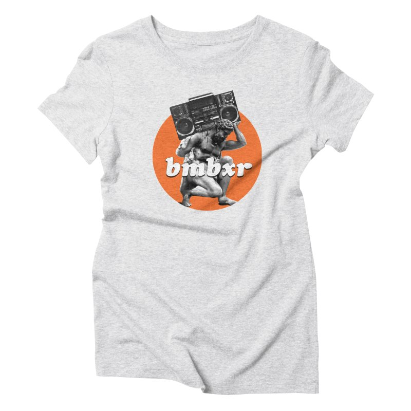 The Classics Women's Triblend T-Shirt by boomboxr's Artist Shop