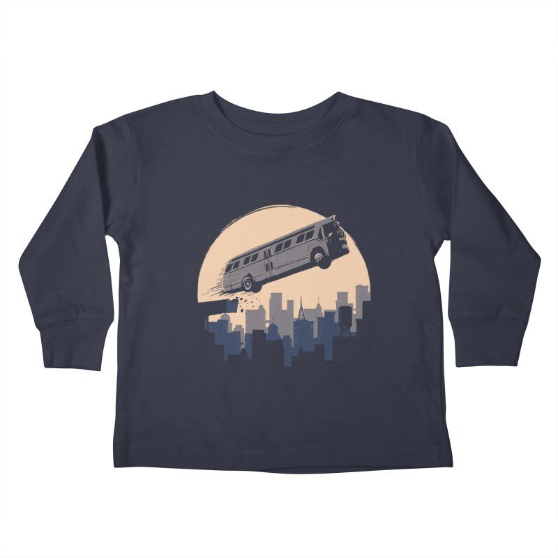 Speed Kids Toddler Longsleeve T-Shirt by booster's Artist Shop