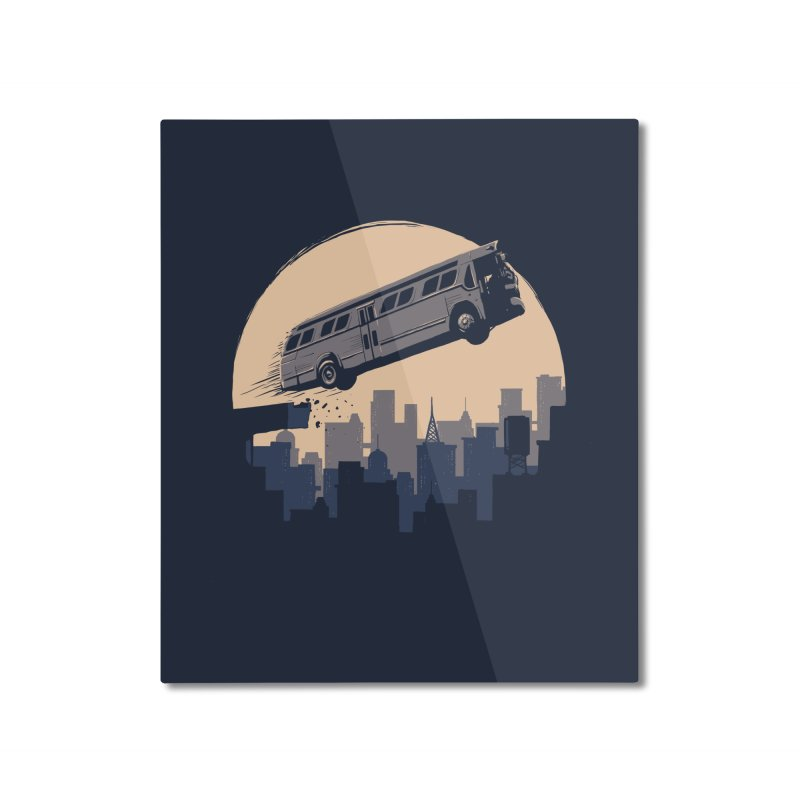 Speed Home Mounted Aluminum Print by booster's Artist Shop