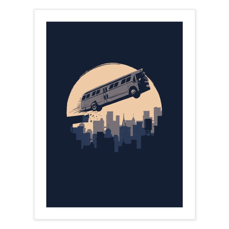 Speed Home Fine Art Print by booster's Artist Shop