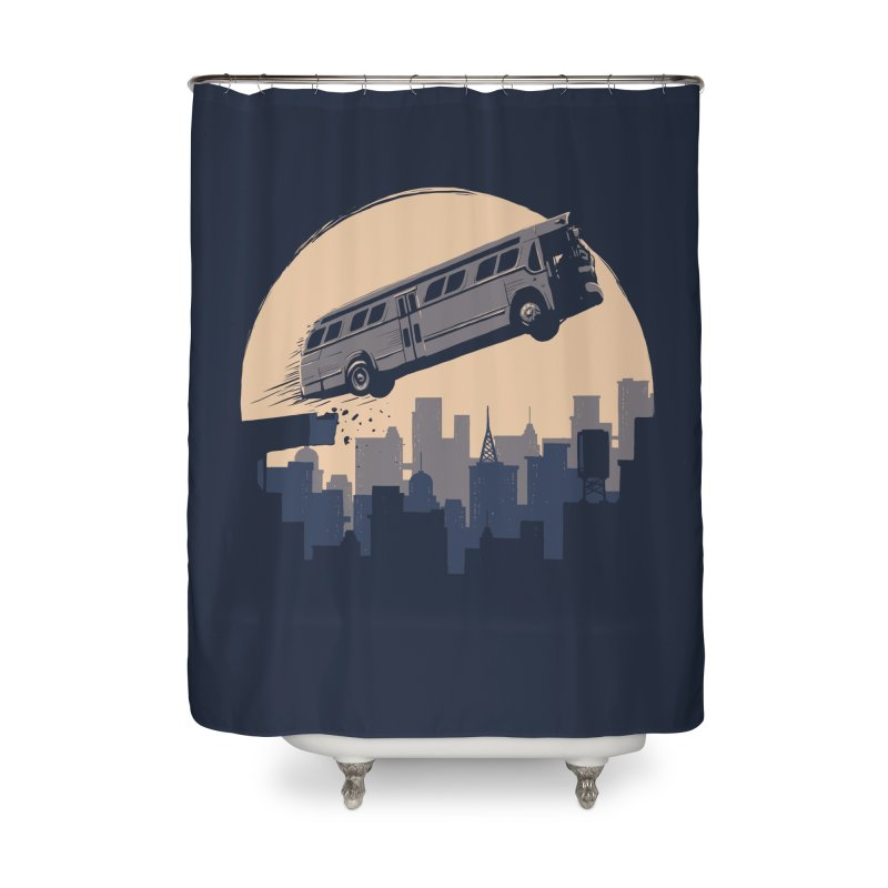 Speed Home Shower Curtain by booster's Artist Shop