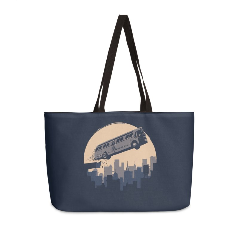 Speed Accessories Weekender Bag Bag by booster's Artist Shop