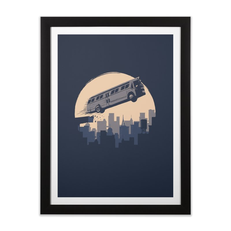 Speed Home Framed Fine Art Print by booster's Artist Shop