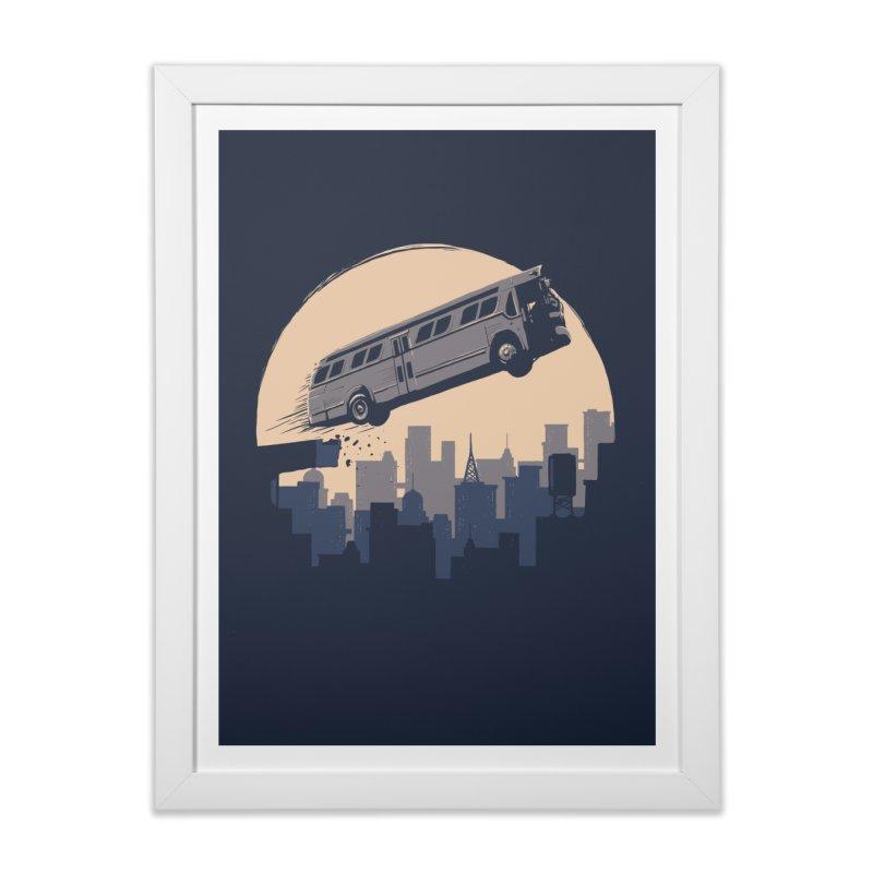 Speed Home Framed Fine Art Print by booster's Artist Shop