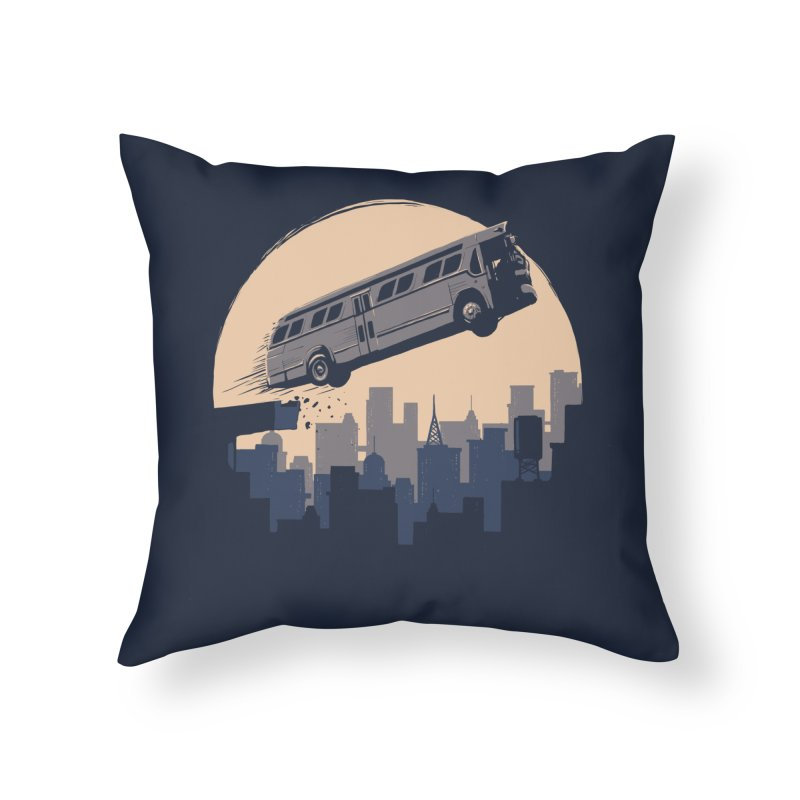 Speed Home Throw Pillow by booster's Artist Shop