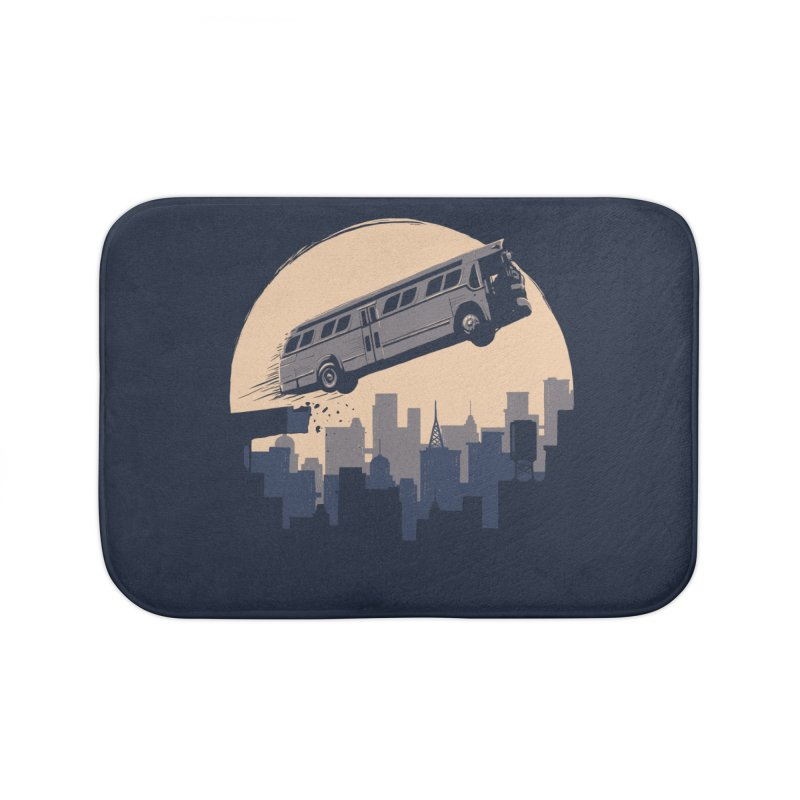 Speed Home Bath Mat by booster's Artist Shop