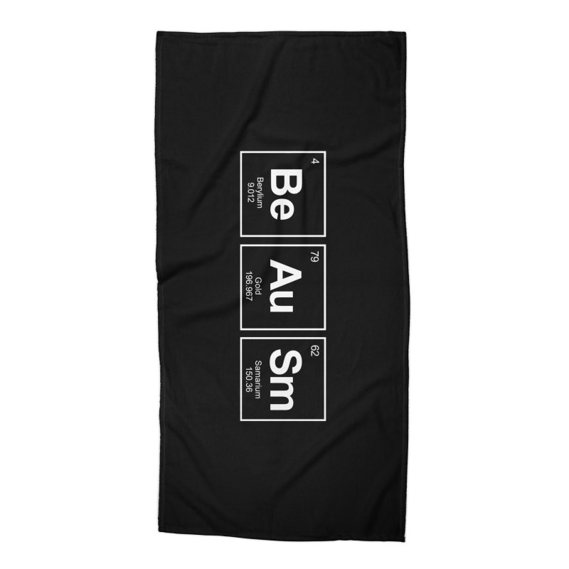 Be Awesome Accessories Beach Towel by booster's Artist Shop