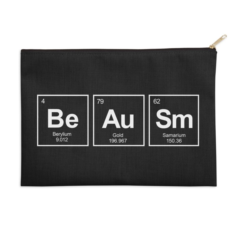 Be Awesome Accessories Zip Pouch by booster's Artist Shop