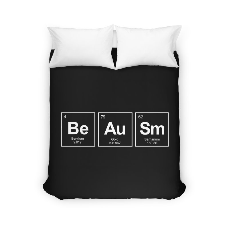 Be Awesome Home Duvet by booster's Artist Shop