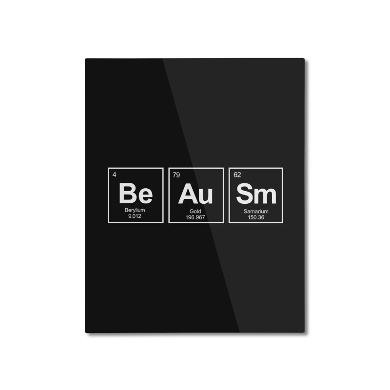 Be Awesome Home Mounted Aluminum Print by booster's Artist Shop