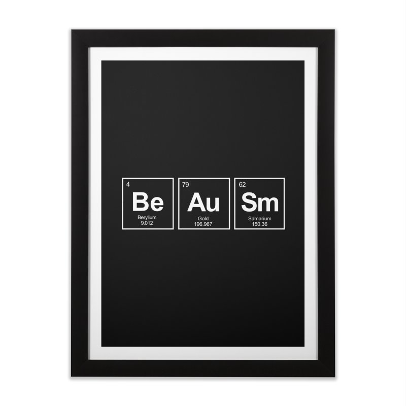 Be Awesome Home Framed Fine Art Print by booster's Artist Shop