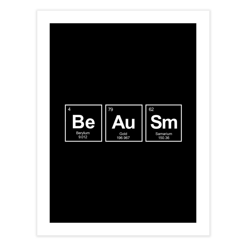 Be Awesome Home Fine Art Print by booster's Artist Shop