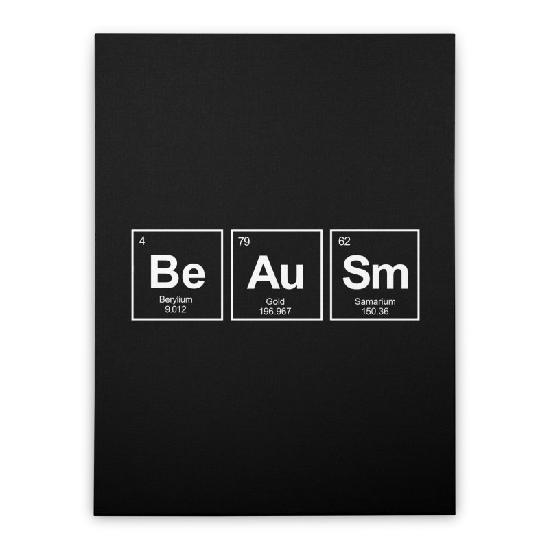 Be Awesome Home Stretched Canvas by booster's Artist Shop
