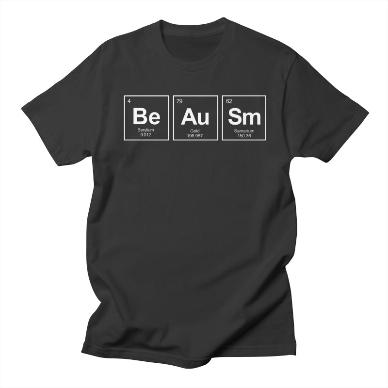 Be Awesome Men's Regular T-Shirt by booster's Artist Shop