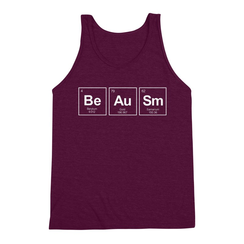 Be Awesome Men's Triblend Tank by booster's Artist Shop