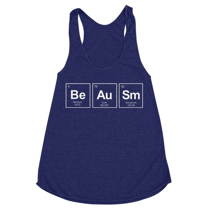 Be Awesome Women's Racerback Triblend Tank by booster's Artist Shop