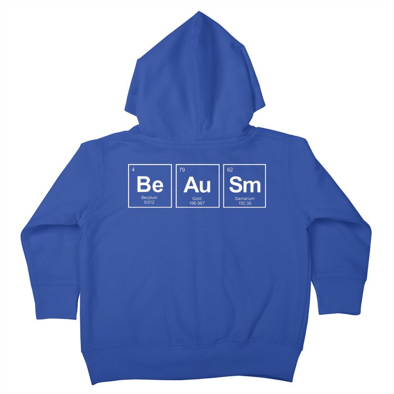 Be Awesome Kids Toddler Zip-Up Hoody by booster's Artist Shop