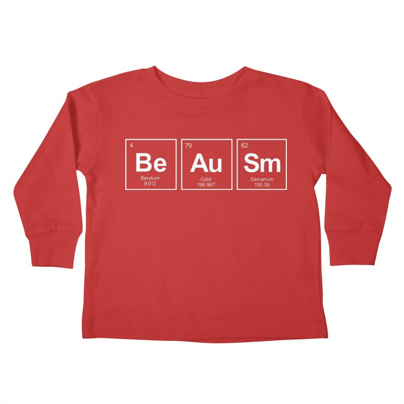 Be Awesome Kids Toddler Longsleeve T-Shirt by booster's Artist Shop