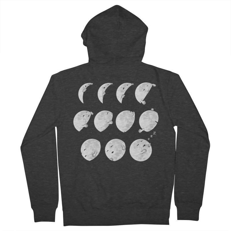 Lunar Phases of Sleep Men's Zip-Up Hoody by booster's Artist Shop