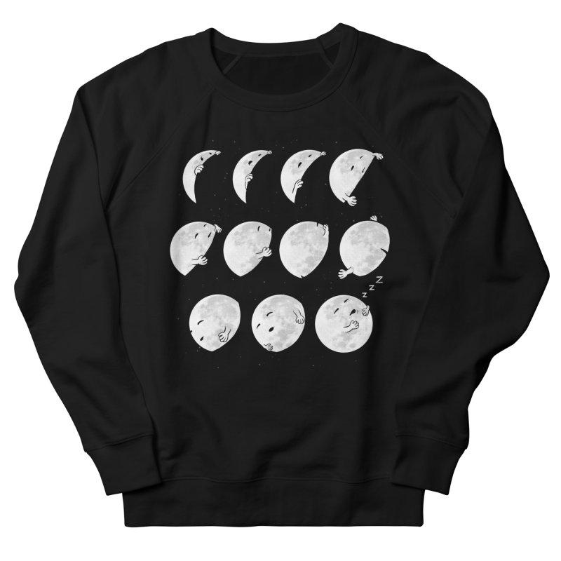 Lunar Phases of Sleep Women's Sweatshirt by booster's Artist Shop