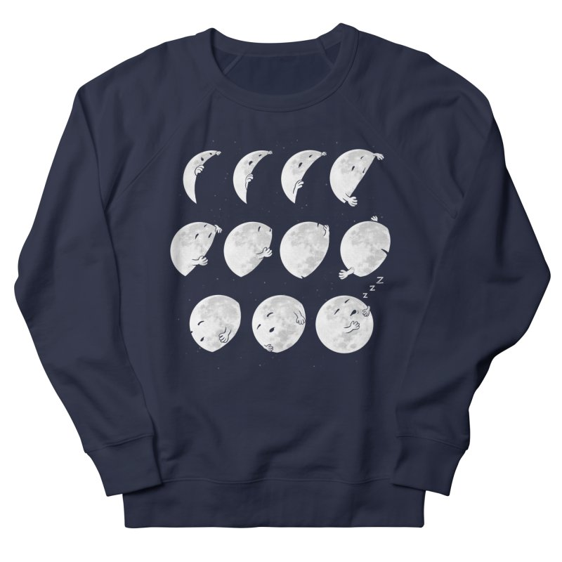 Lunar Phases of Sleep Men's Sweatshirt by booster's Artist Shop