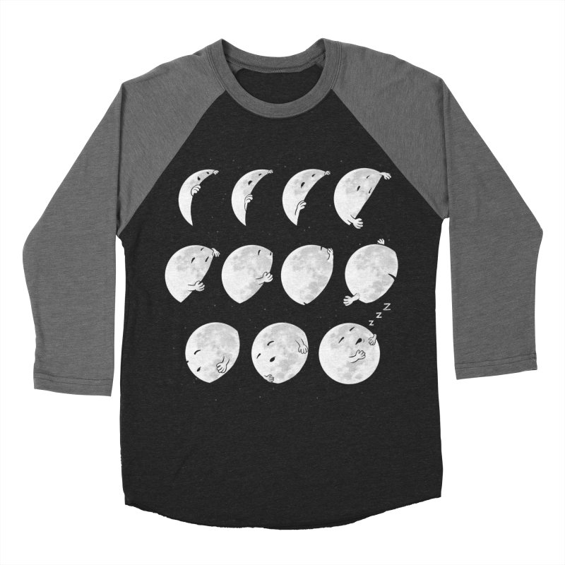 Lunar Phases of Sleep Men's Longsleeve T-Shirt by booster's Artist Shop