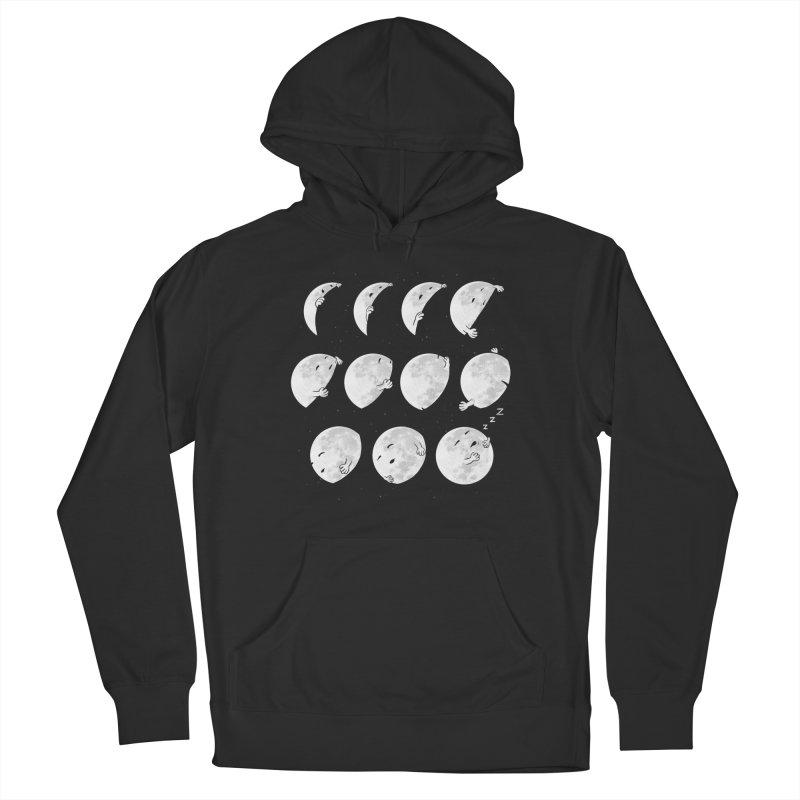 Lunar Phases of Sleep Women's Pullover Hoody by booster's Artist Shop