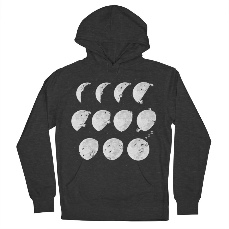 Lunar Phases of Sleep Men's French Terry Pullover Hoody by booster's Artist Shop