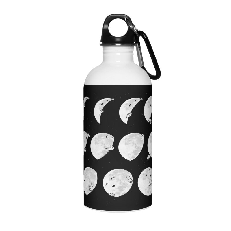 Lunar Phases of Sleep Accessories Water Bottle by booster's Artist Shop