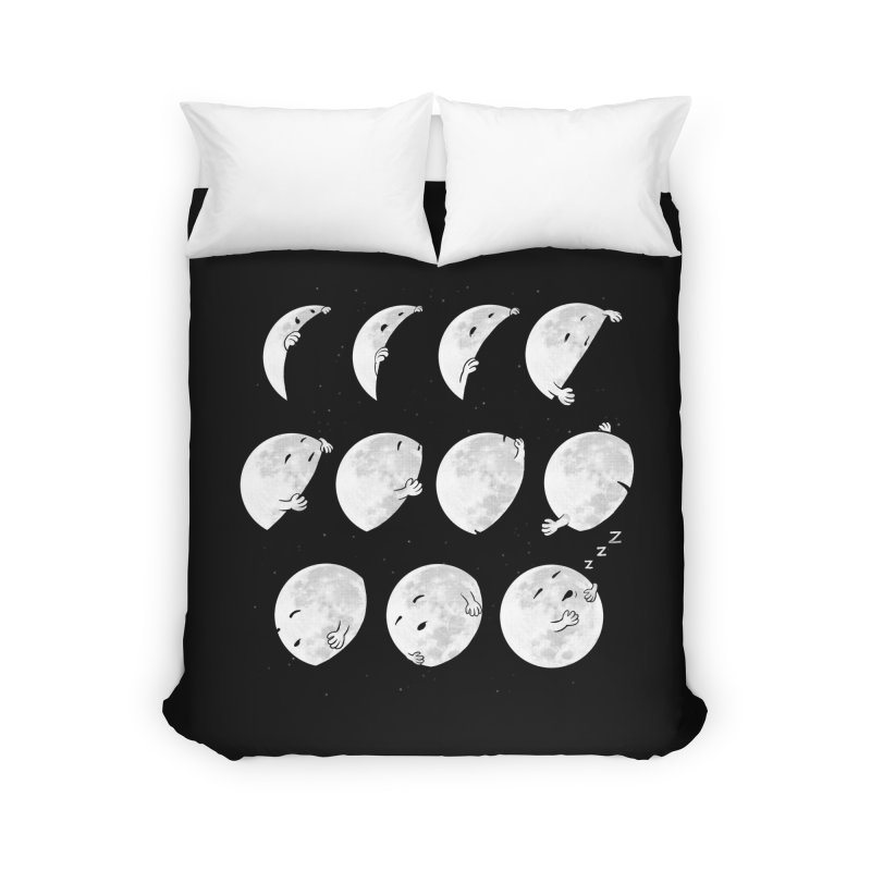 Lunar Phases of Sleep Home Duvet by booster's Artist Shop