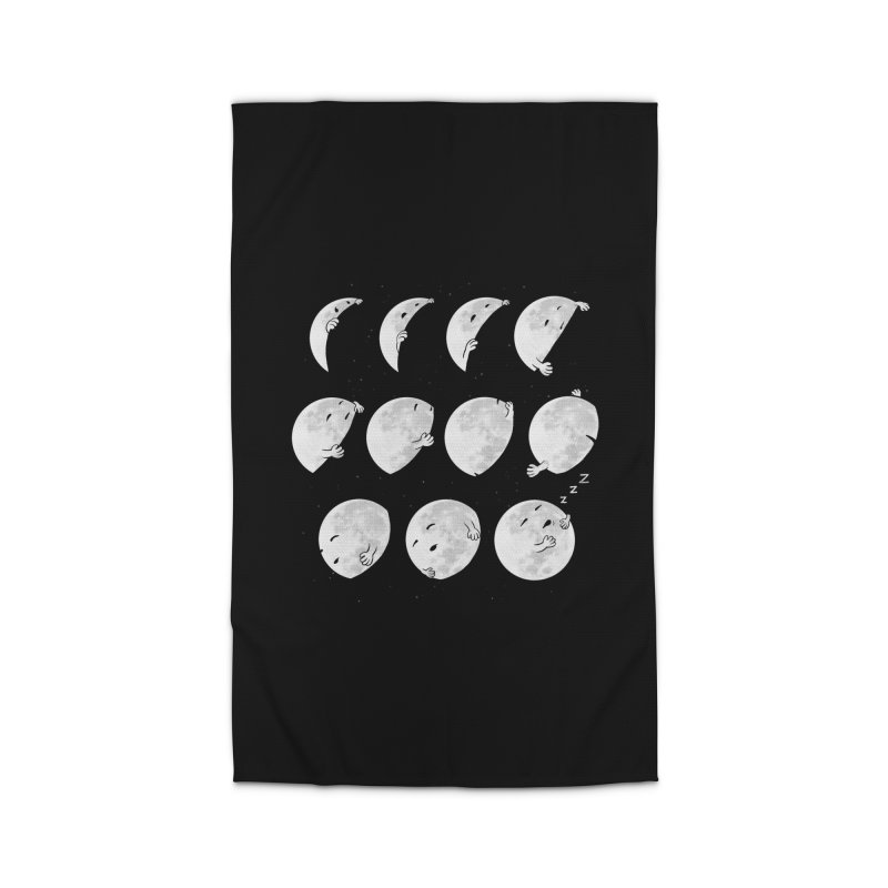 Lunar Phases of Sleep Home Rug by booster's Artist Shop