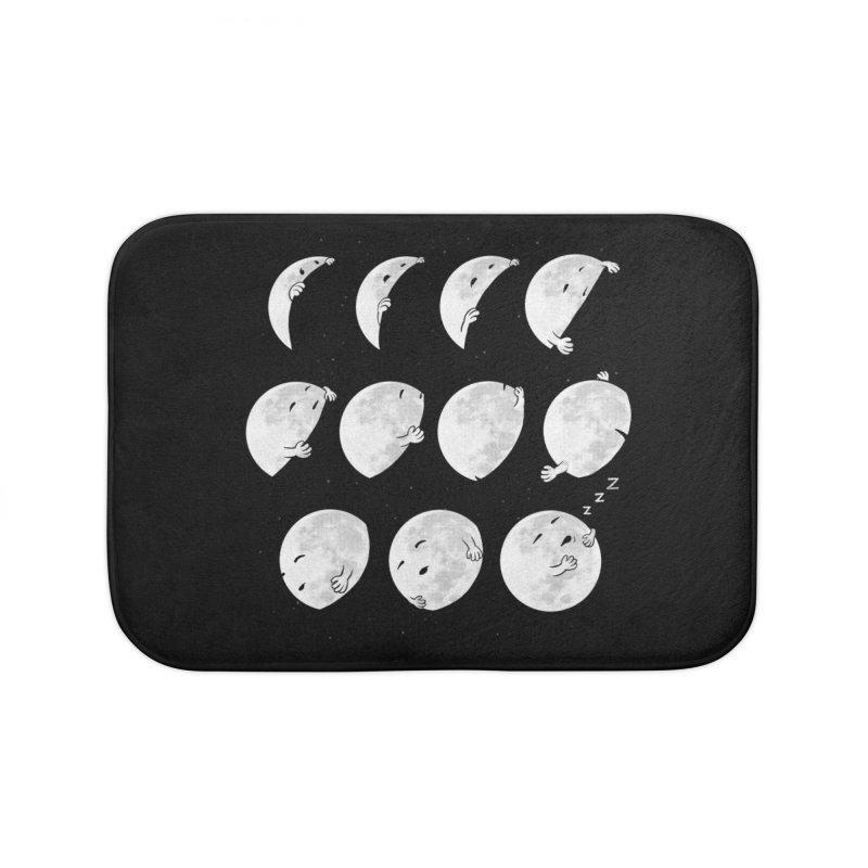 Lunar Phases of Sleep Home Bath Mat by booster's Artist Shop