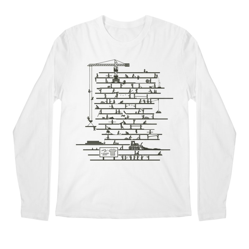 Under Construction Men's Longsleeve T-Shirt by booster's Artist Shop