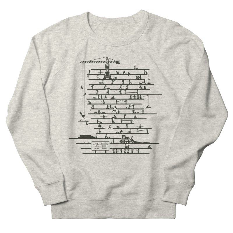 Under Construction Men's Sweatshirt by booster's Artist Shop