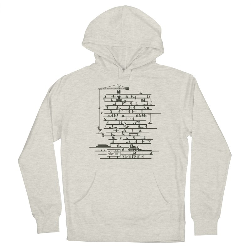 Under Construction Women's French Terry Pullover Hoody by booster's Artist Shop