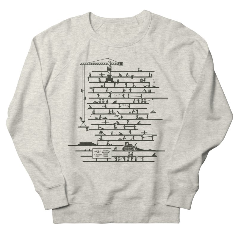 Under Construction Men's French Terry Sweatshirt by booster's Artist Shop