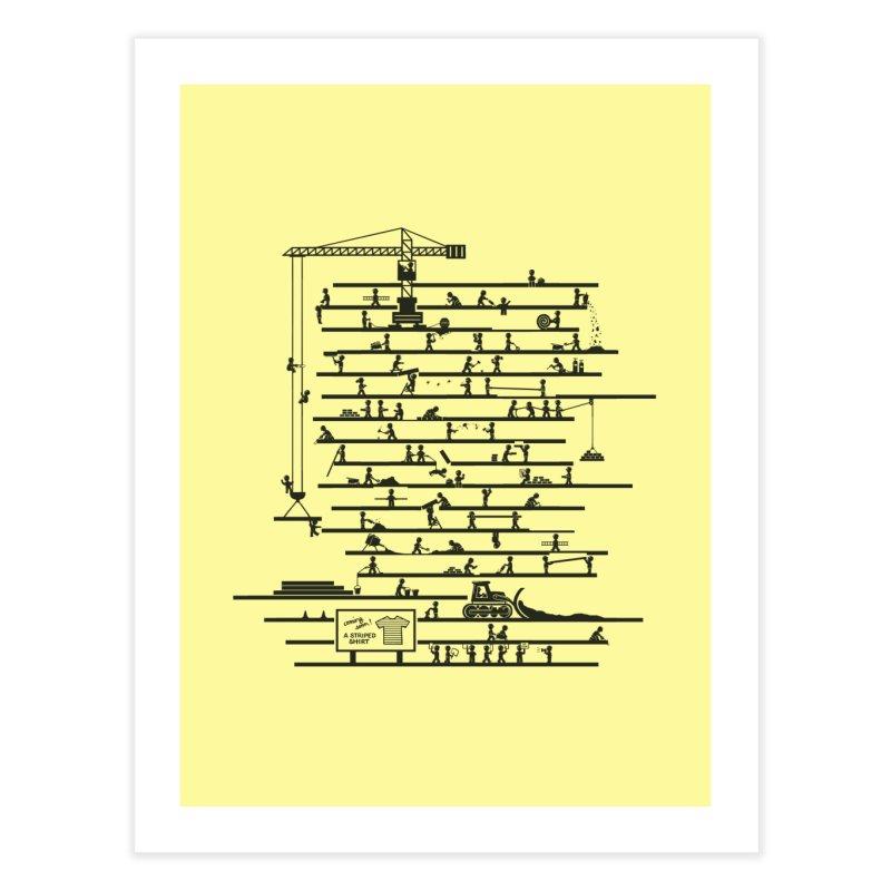 Under Construction Home Fine Art Print by booster's Artist Shop