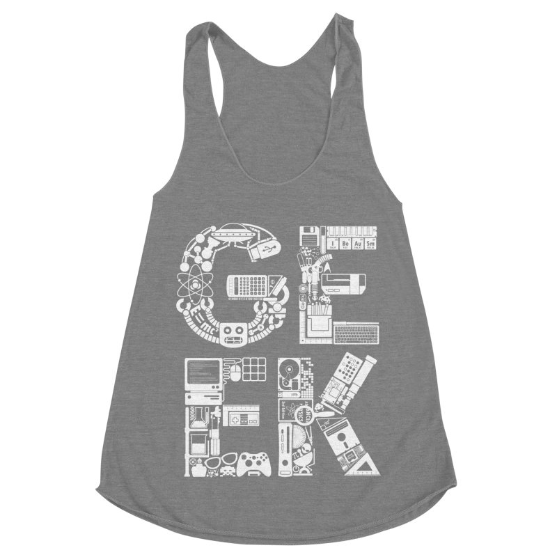 I Be Au Sm Women's Racerback Triblend Tank by booster's Artist Shop