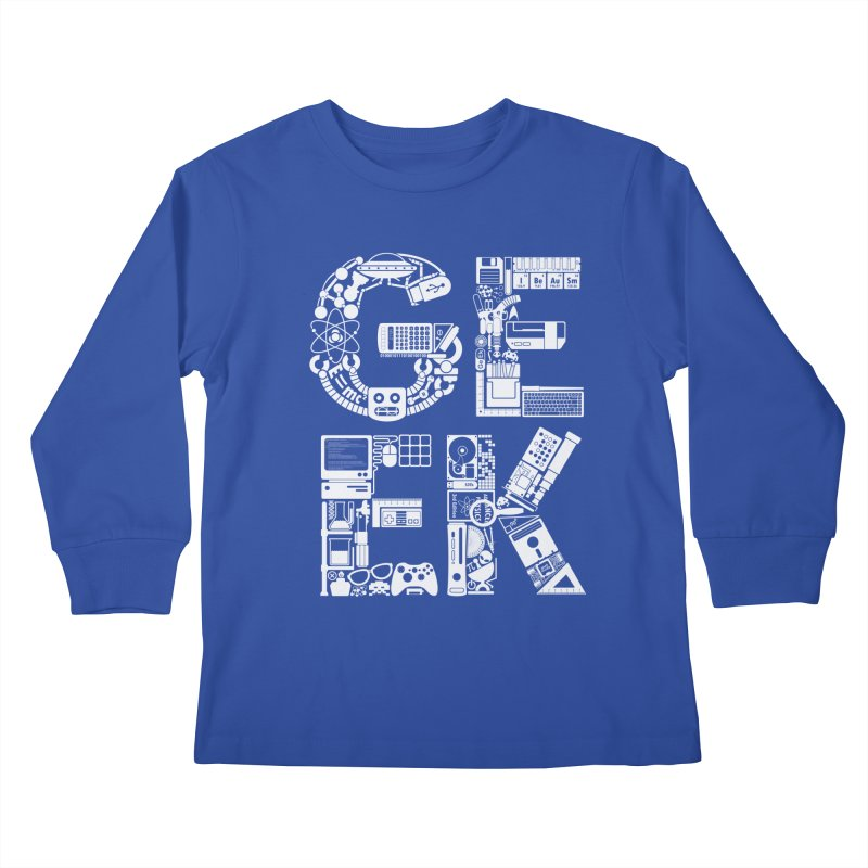 I Be Au Sm Kids Longsleeve T-Shirt by booster's Artist Shop