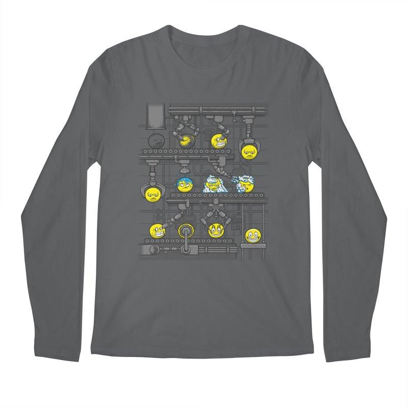 Smiley Factory Men's Longsleeve T-Shirt by booster's Artist Shop
