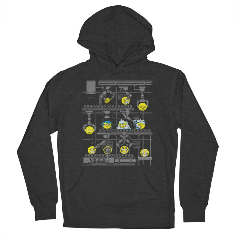 Smiley Factory Men's French Terry Pullover Hoody by booster's Artist Shop