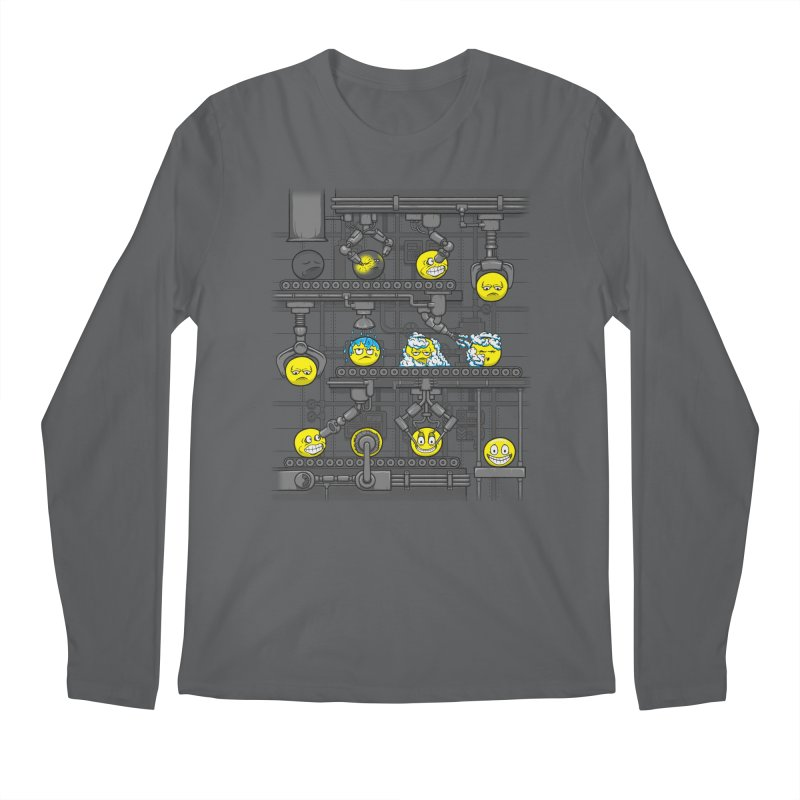 Smiley Factory Men's Longsleeve T-Shirt by booster's Artist Shop